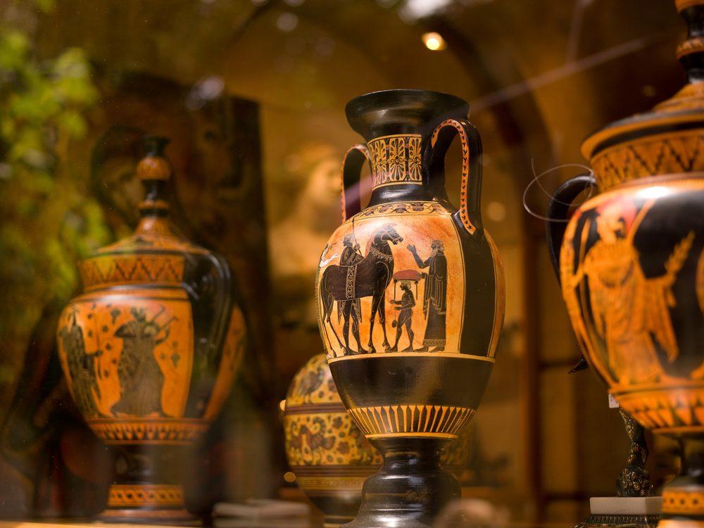 ancient greek vase art