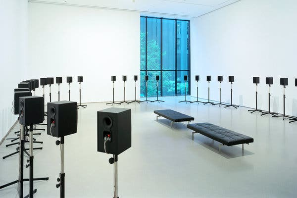 sound art display in new york